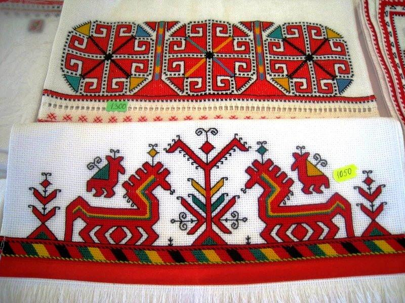 Вышивка на одежде рязань