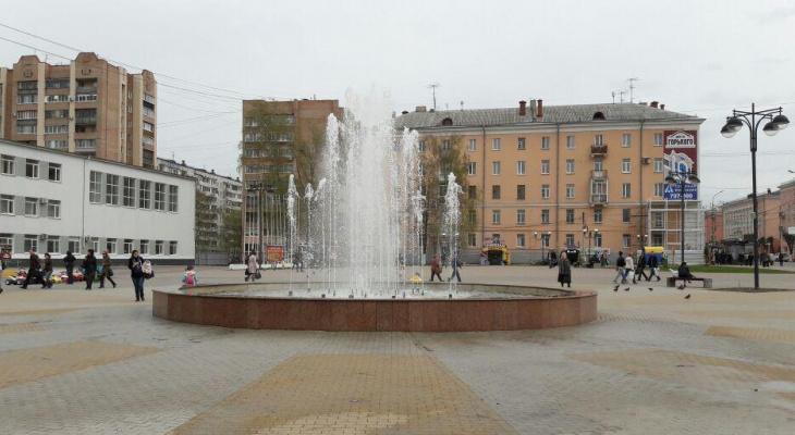 Жители Рязани просят отремонтировать фонтан на площади Победы