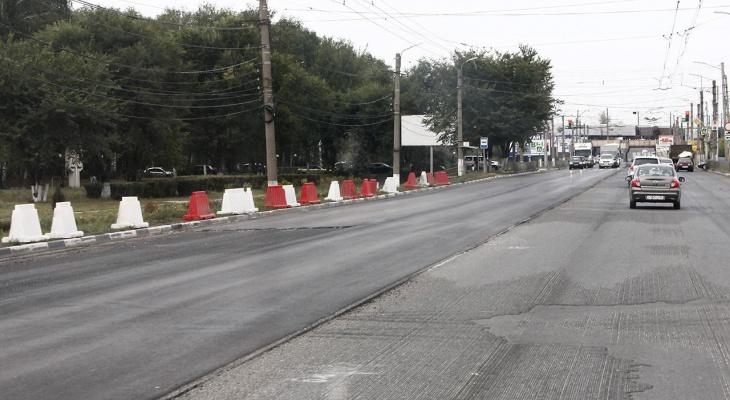В Рязани начался ремонт Московского шоссе