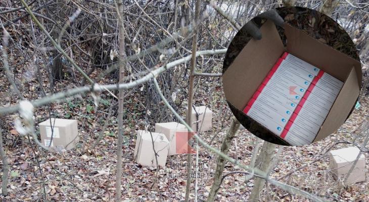 Кажется, мы узнали причину дефицита вакцин от гриппа: целая партия рязанского препарата оказалась разбросана в лесу