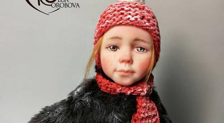 Рязанская мастерица создала куклу, которая поражает своей реалистичностью