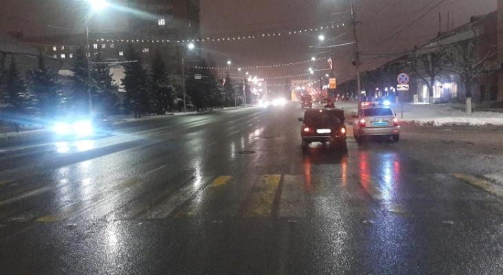 На Первомайском проспекте водитель ВАЗ-2107 сбил девушку