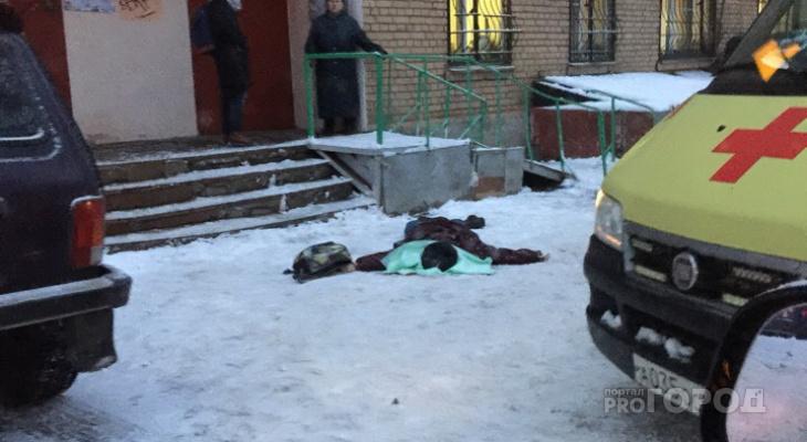 Очевидцы сообщили о трупе на улице Вокзальной в Рязани
