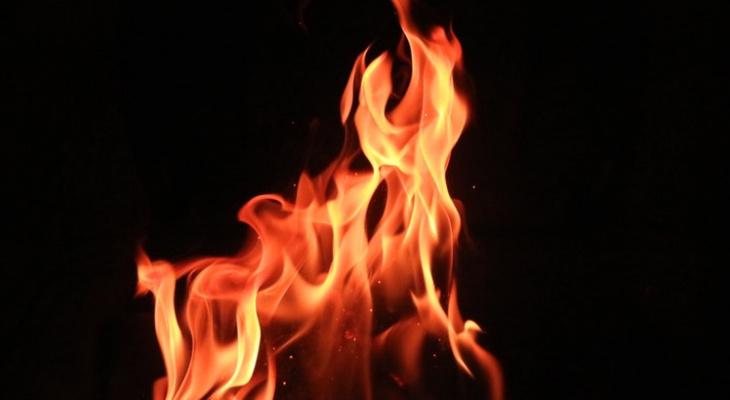 В Рязанской области сгорел дом, два человека погибли