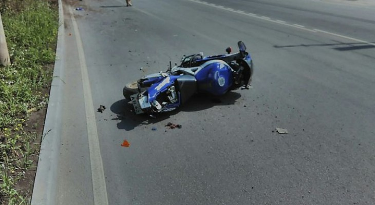 Мотоциклист, который разбился в Рязани на глазах прохожих, был без прав