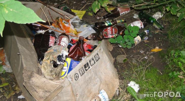 Ночное пьянство на Крупской не дает спать рязанцам