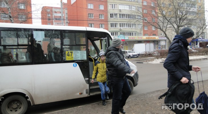 В Рязани 50 процентов водителей маршруток нарушают правила перевозки пассажиров