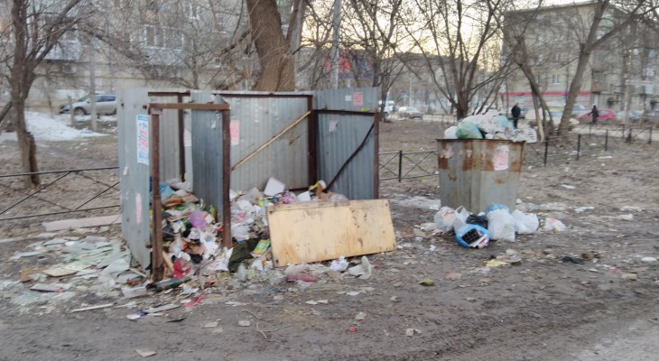 Народное фото: мусорная свалка в центре города
