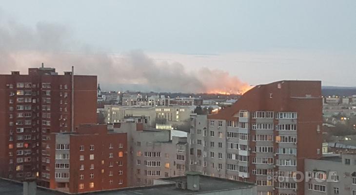 Очевидцы: в Рязани загорелся речной порт
