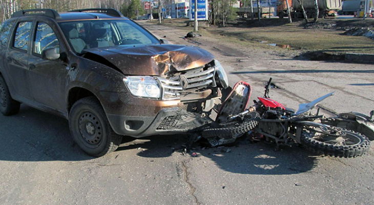В Касимове погиб молодой пассажир мотоцикла