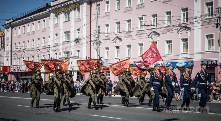 9 мая: праздничный парад в Рязани начнется в 10:00