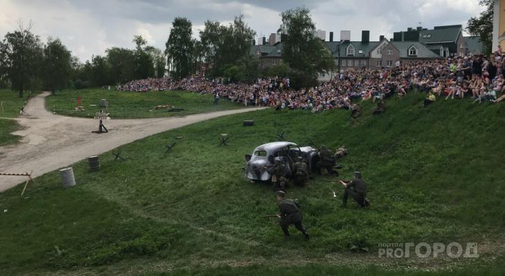 """""""Последний бой"""": появилось видео с реконструкции в Кремлёвском сквере"""