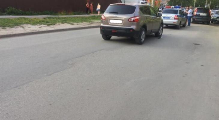 В Горроще девятилетняя девочка попала в ДТП