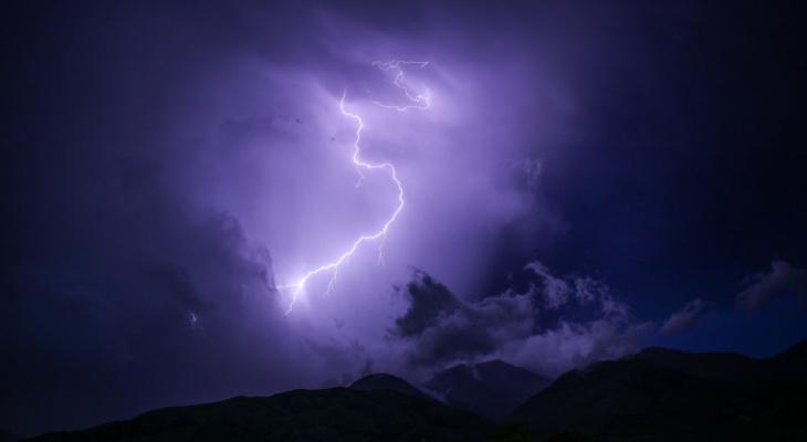 Метеопредупреждение: в ближайшие часы в Рязани ожидается дождь с грозой