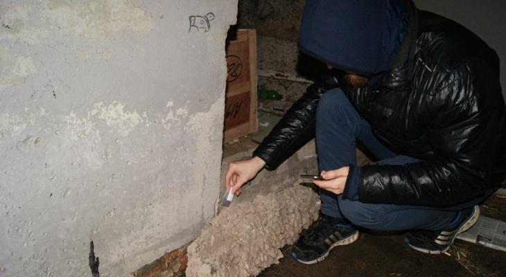 В Рязани поймали закладчика с поличным