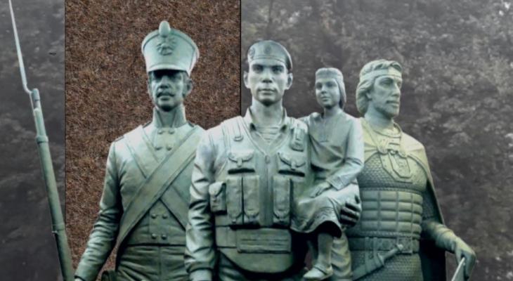 В Рязани хотят установить памятник росгвардейцам в парке Железнодорожников