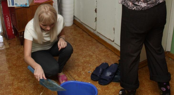 Рязанка затопила соседку и попала на крупный штраф