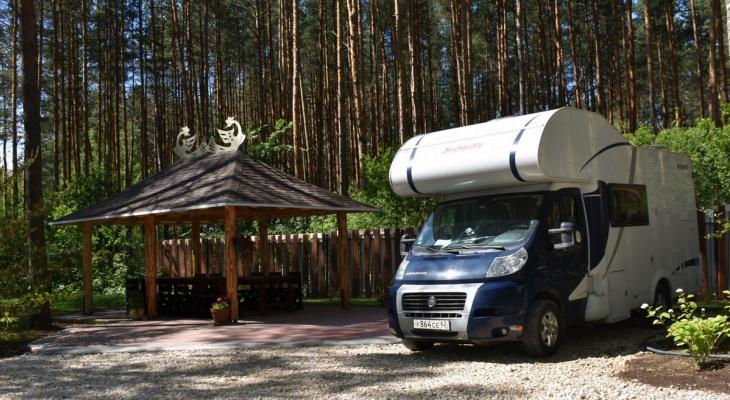 В Рязанской области создали первую кемпинговую площадку
