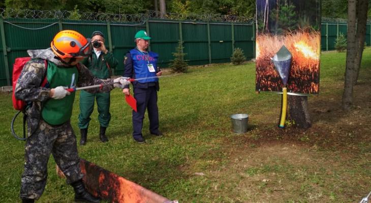 Рязанец претендовал на звание лучшего пожарного России