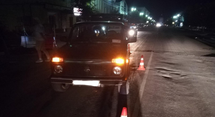 В Касимове сбили девушку, которая пересекала дорогу вне пешеходного перехода