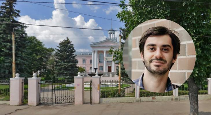 """Авторская колонка: """"У Дворца пионеров разрушается неработающий фонтан"""""""