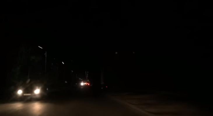Темная Рязань: жители города жалуются на отсутствие фонарей
