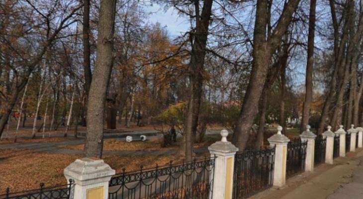 В Верхнем городском парке появится спортивная площадка