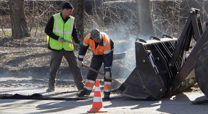 За неделю рабочие заделали ямы на 8 рязанских улицах