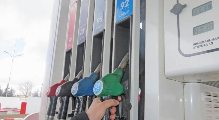 В начале года в Рязани подорожал бензин