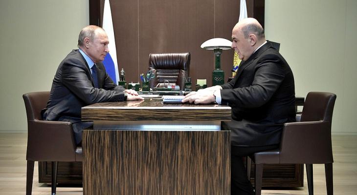 Владимир Путин предложил на пост премьер-министра главного налоговика России