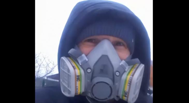 Рязанка рассказала, какими респираторами можно защититься от выбросов предприятий
