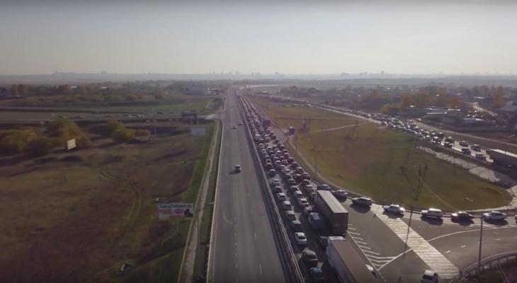 Внимание, водители: на Солотчинском мосту установили камеры, измеряющие среднюю скорость