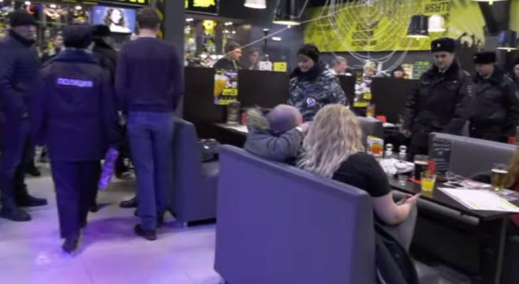 Полицейские пошли по барам: в Рязани провели рейды в развлекательных заведениях