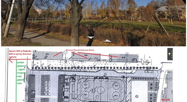 Крытый каток в Роще будет построен в 2020 году:  почему местные жители против?