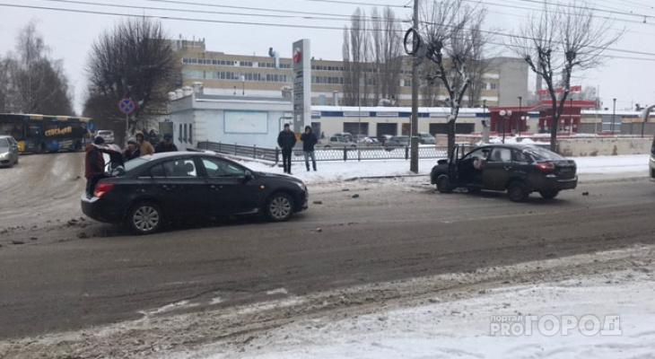 Помните про безопасность:  13 февраля  в Рязани произошло ДТП