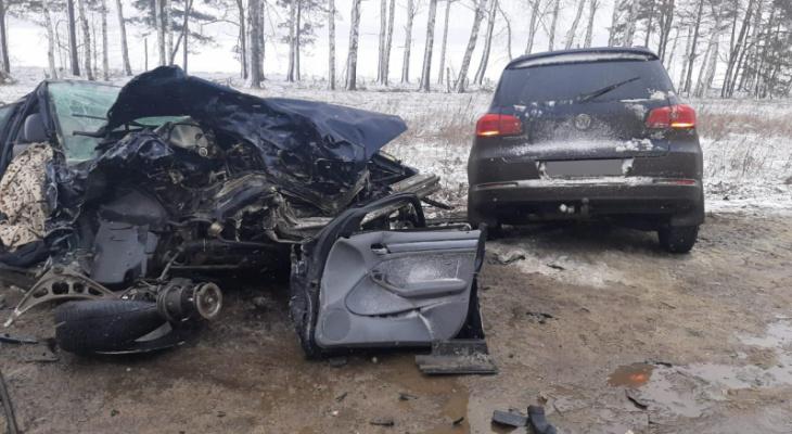 Столкновение на встречке: под Рязанью в аварии погибла 7-летняя девочка
