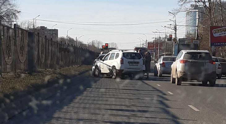 На Московском шоссе случилось массовое ДТП