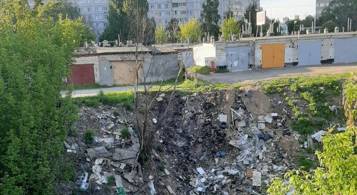 В городе кончились мусорные баки? В Канищеве нашли очередную свалку