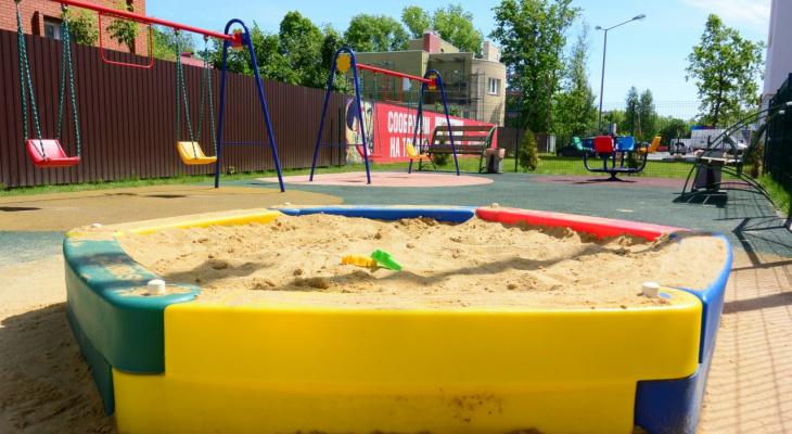 Качельки да горки: на улице Энгельса появится детская площадка за миллион рублей