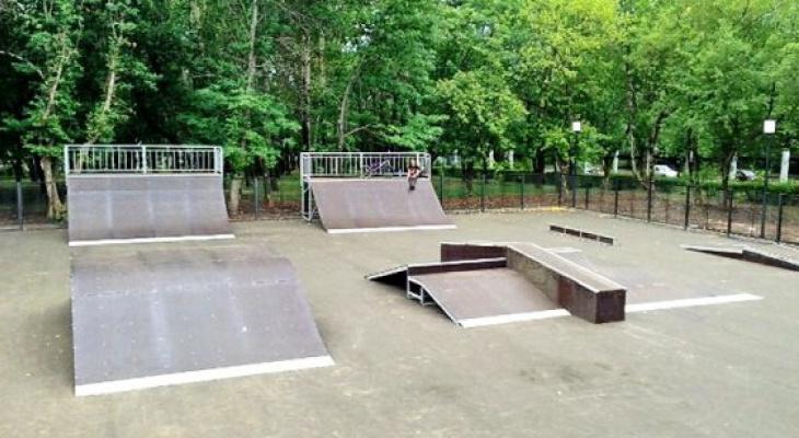 В рязанском ЦПКиО появится скейт-площадка