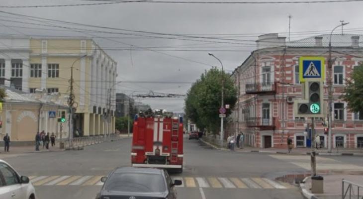 Пересечение Ленина и Соборной: в Рязани изменился график работы светофора
