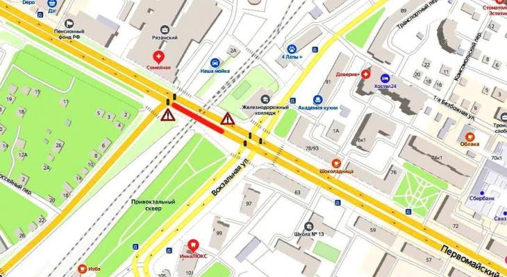 Ремонт водопровода: на Московском шоссе ограничат движение
