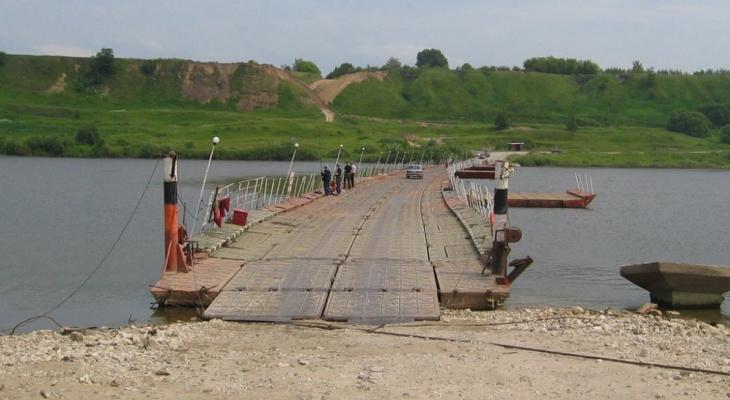 Идем в обход: в Рязанской области перекрыли движение по двум понтонным мостам через Оку