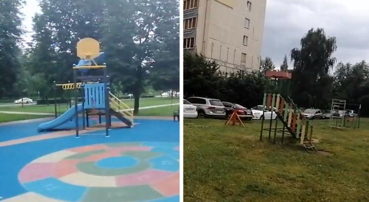 Сравниваем столицу и Рязань: москвичка пришла в ужас от состояния двора на Бирюзова