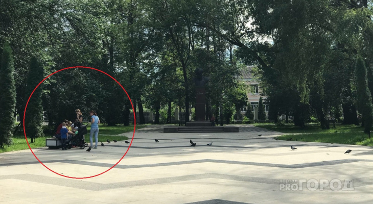 Реставрацию завершили: в  Наташкином парке забыли поставить лавочки