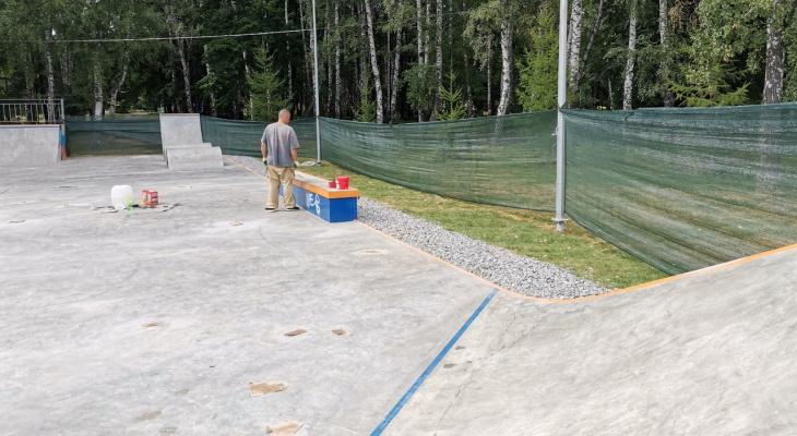 И так сойдет: новая скейт-площадка в ЦПКиО проработала один день
