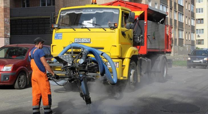 13 улиц: рязанская мэрия похвасталась ямочным ремонтом
