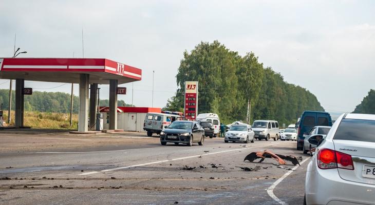 Нужно быть внимательнее: вселе Городище Рыбновского района произошло ДТП