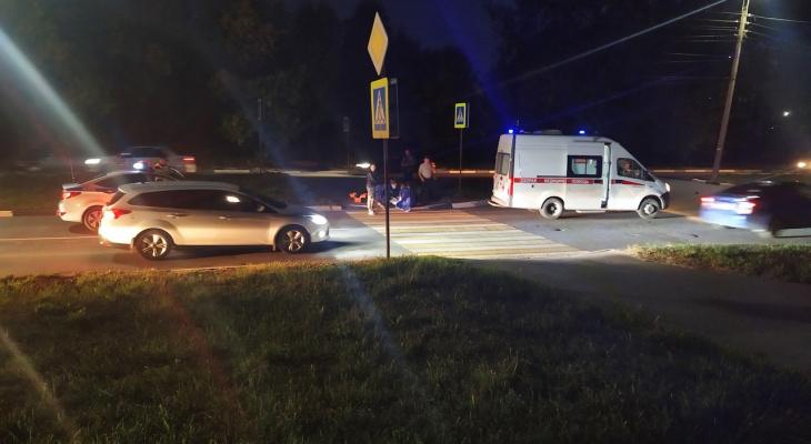Страшное ДТП: на улице Зубковой автомобиль сбил пешехода