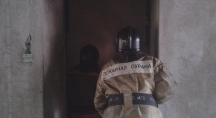 Есть пострадавшие: ночью в рязанской пятиэтажке загорелась квартира